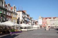 Der Alte Marktplatz / Stary Rynek in Poznan / Posen
