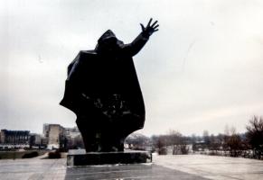 Kommunistisches Denkmal in Warschau (1995)