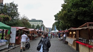 Markt in Stettin
