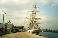 Segelschiff im Hafen von Sopot / Gdynia (Polen)