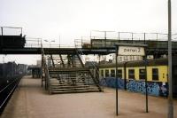 Bahnhof in der Nähe der Werft von Gdansk / Danzig