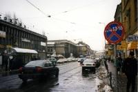 Knackiger Winter im polnischen Krakau / Krakow, Januar 2000