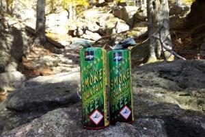 Rauchtöpfe im Gebirge