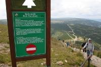 Sniezka (Schneekoppe) im Karkonosze (Riesengebirge)