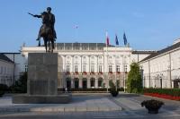 siedziba prezydenta / Präsidentensitz in Warschau