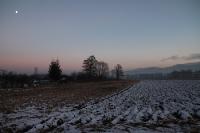 Winterspaziergang im Vorland des Riesengebirges