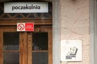 Zeitreise auf einem polnischen Provinzbahnhof