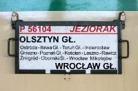 Zug von Allenstein nach Breslau