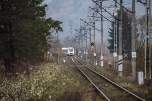 Zugstrecke bei Jelenia Góra Orle