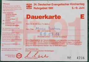 Evangelischer Kirchentag 1991
