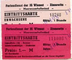 Feriendienst der IG Wismut - Zinnowitz