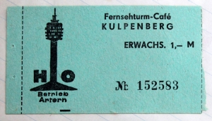 Fernsehturm-Café Kulpenberg