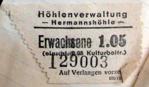 Höhlenverwaltung Hermannshöhle