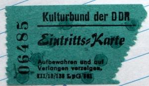 Kulturbund der DDR