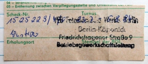 Reisedokument für Wustrow