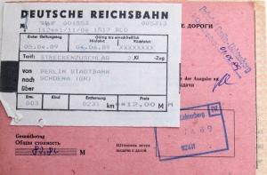 Streckenzuschlag Deutsche Reichsbahn