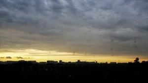 Abendhimmel über Kaliningrad