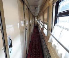 Gang in der Eisenbahn