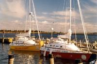 Time for Sydney & First Cash im Hafen auf Hiddensee