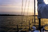 Dem Abendrot entgegen: Unterwegs auf dem Nord-Ostsee-Kanal