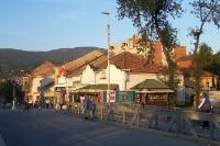 Die Stadt Pirot im Südosten Serbiens