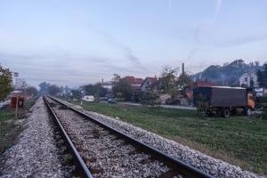 Auf dem Schienenweg nach Niš
