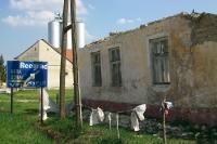 Wegweiser nach Beograd, Novi Sad und Sombor