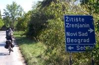 Mit dem Rad in Serbien unterwegs - Wegweiser nach Belgrad, Novi Sad, Zrenjanin und Secanj