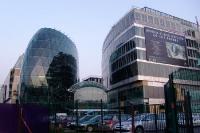 moderne Bürogebaute / Glasbauten in der slowakischen Hauptstadt Bratislava