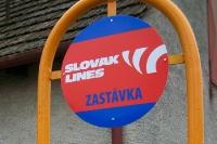 Zastávka / Haltestelle der Slovak Lines