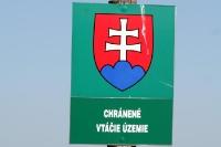 Chránené Vtácie Uzemie - slowakische Grenze zu Ungarn