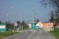 österreichisch-slowakische Grenze bei Kittsee