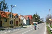 slowakische Ortschaft in der Grenzregion zu Österreich