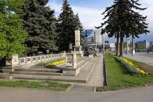 sowjetisches Denkmal in Košice