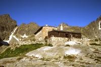 Berghütte in der Hohen Tatra (slowakischer Teil)