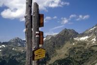 Berge in der Hohen Tatra (slowakischer Teil)