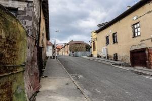 Straße in Levoča
