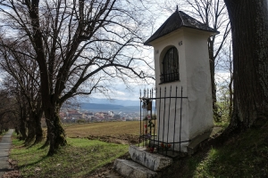 Weg zum Wallfahrtsort Marianska