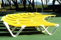 Saisoneröffnung auf Mallorca: Die Liegestühle stehen bereit ...