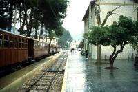 Eisenbahn von Palma de Mallorca nach Sóller