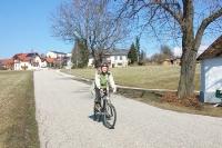 Radfahren in Österreich - die ersten Sonnenstrahlen kommen im Frühling raus