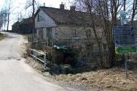 Straße nach Odenkirchen in Österreich