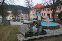 Litschau im Bezirk Gmünd in Niederösterreich. Die nördlichste Stadt in Österreich.