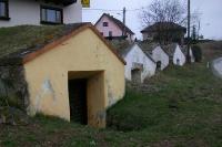 Weinkeller in der Erde in einer österreichischen Gemeinde
