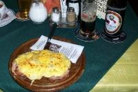 Deftiges zum Abendbrot in einem Gasthaus in Niederösterreich