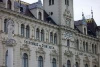 historisches Stadthaus in der Stadt Laa an der Thaya im nördlichen Weinviertel in Niederösterreich