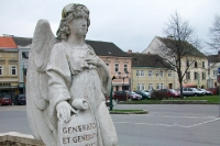 Laa an der Thaya im nördlichen Weinviertel in Niederösterreich