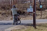 Unterwegs mit dem Mountainbike / Fahrrad in den Bergen und Hügeln von Österreich