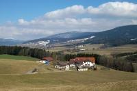 hügelige Landschaft in Niederösterreich