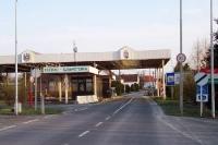 Grenzübergang Eberau / Szenpeterfa, Grenze Ungarn - Österreich
